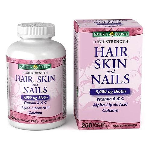 Nature's Bounty Hair, Skin and Nails 250Caps