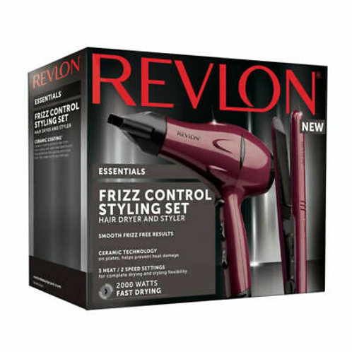 Revlon Frizz Control Styling Set 2000 Watts