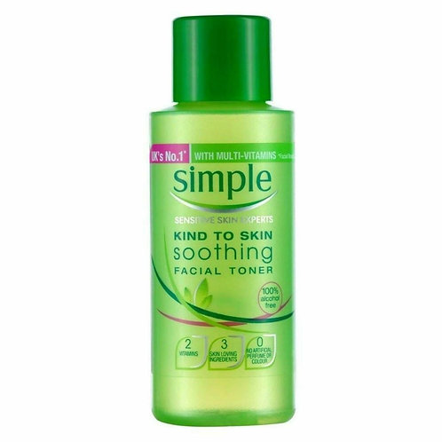 Simple Smoothing Toner -50ml
