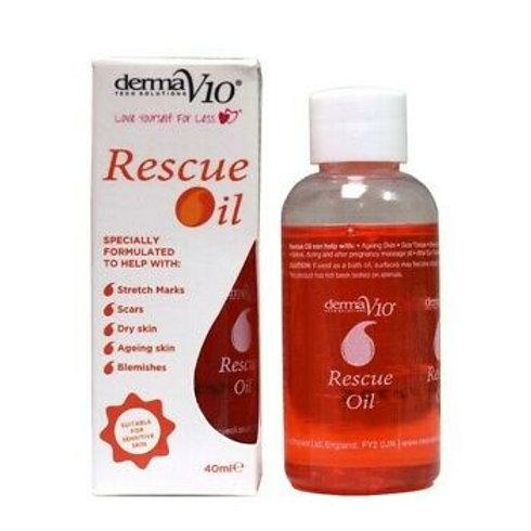 DermaV10 Rescue Oil 40ml