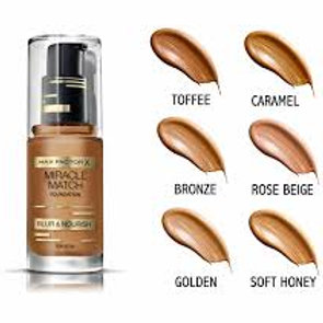 Max Factor Miracle Match Foundation Toffee -90