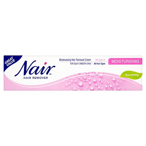 Nair Hair Remover With Baby Oil