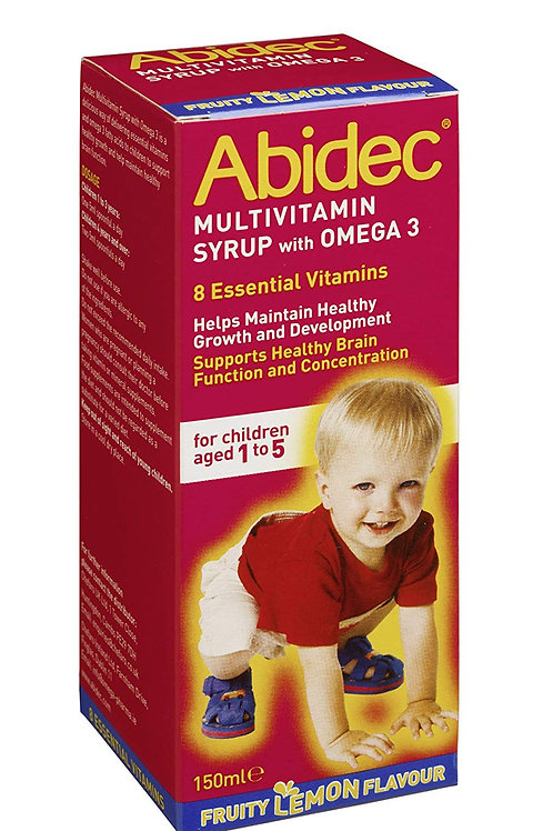 Advanced Multivitamin Syrup Plus Omega