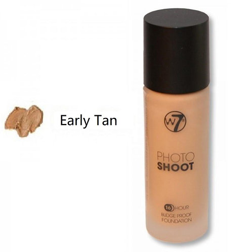 W7 16 Hour  Budge Proof Foundation – Early Tan