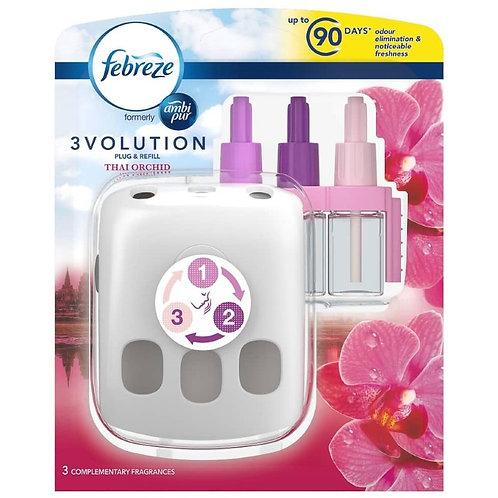 Febreze 3 Volution Thai Orchid Kit