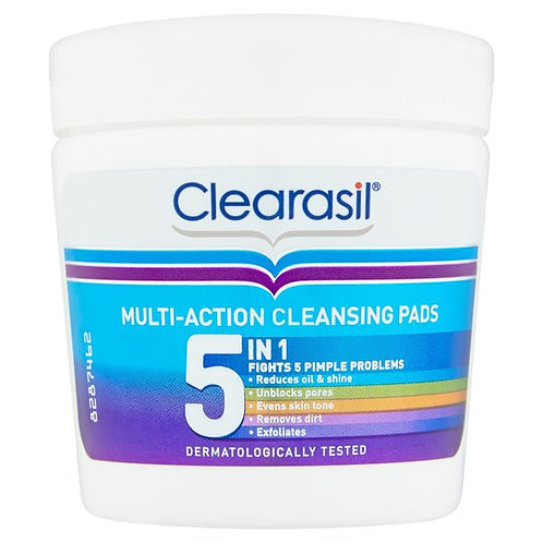 Clearasil Ultra 5 in 1 Cleansing Pads