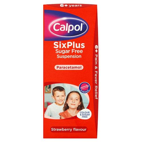 Calpol SixPlus Suspension Sugar Free
