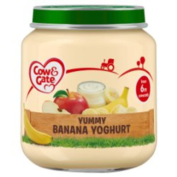 Cow & Gate Banana Yoghurt Pot