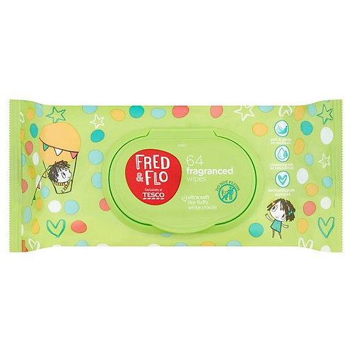 Fred & Flo baby fragrance wipe