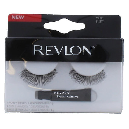 Revlon EyeLashes + Eyelash Glue – FLIRTY