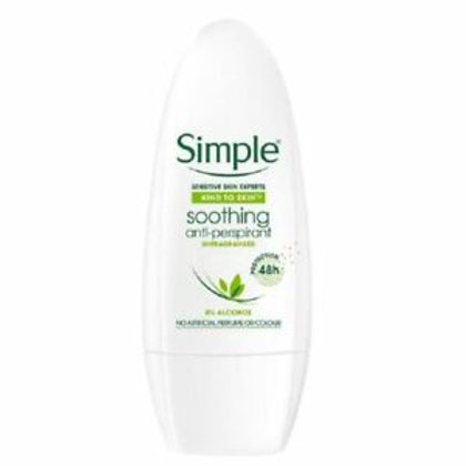 Simple Smoothing Anti-perspirant Roll On 50ml