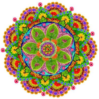Mandala - spiritual and ritual symbol in