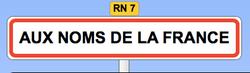 Aux Noms de la France - Livres