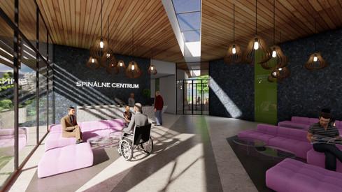 architektonická štúdia - Spinálne centrum NZ