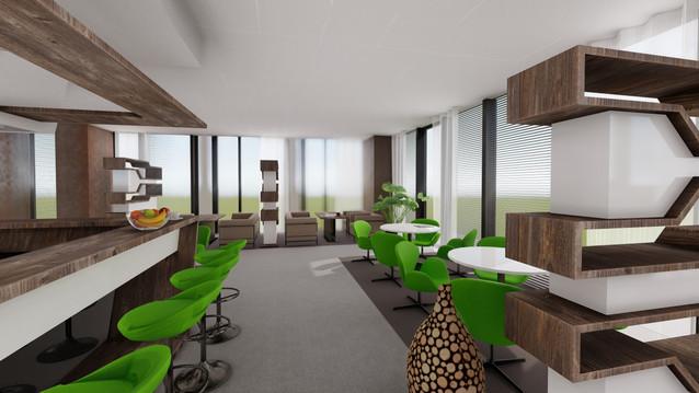 Orange - Central - kaviareň pre zamestnancov