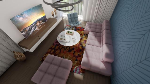 návrh interéru bytu - Cubicon BA