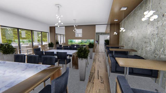 architektonicka štúdia - reštaurácia - Chomutov ČR