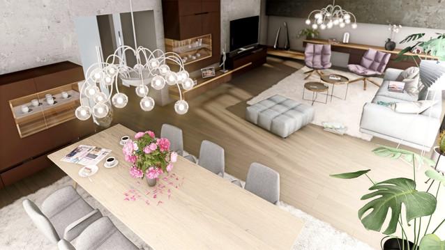 návrh interiéru RD