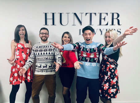 Merry Christmas from Hunter Lawyers
