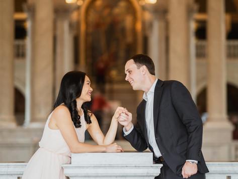 Pre-wedding  Library of Congress  Nora & Preston