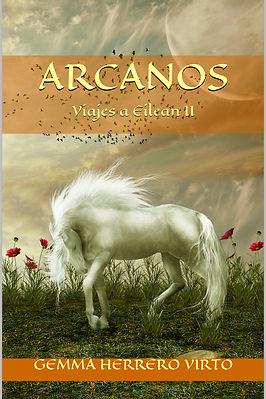 Portada de la novela Viajes a Eilean II: Arcanos