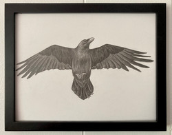 Self-Portrait (The Raven)