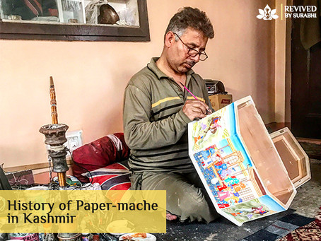 'Kashmiri Paper Mache Art Form'- An Immense Pride of its People And Their History.