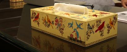 Passerine Tissue Box