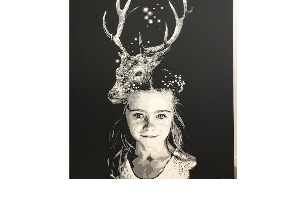Girl & The Deer.jpg