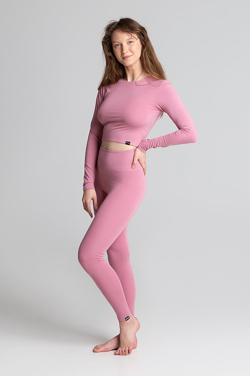 PINK high waisted leggings