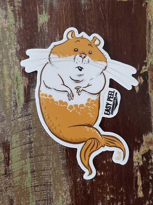 """3"""" Mer-Hamster sticker"""