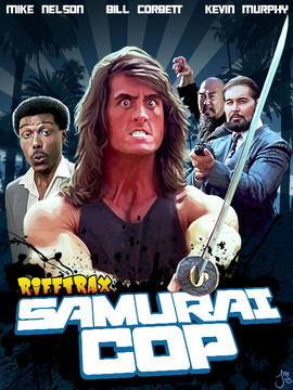 Samurai Cop for RiffTrax