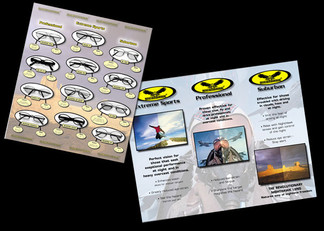 Brochure for Nighthawk Sunglasses
