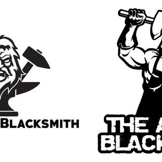 Logo for Angry Blacksmith