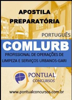 Apostila preparatória para o concurso da COMLURB.