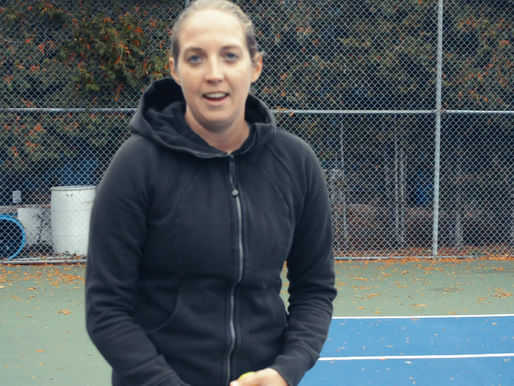 Shannon's Tennis Tips: When it comes to serving, don't hit it unless you love it