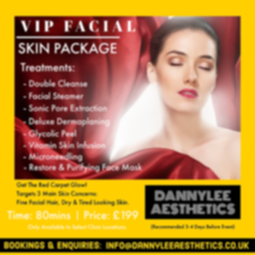 Bespoke, Package, Skincare, Aesthetics, Dannylee, Kidderminster, West Midlands, Gloucester, Dermal Fillers, Botox, Chemical Peels, Skin, PRP, Fat Dissolving, Sunekos, Henna Brows, Brows, Beauty, Luxury