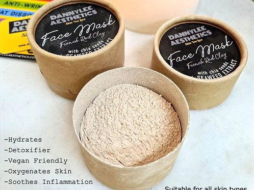 DANNYLEE - French Red Clay Mask