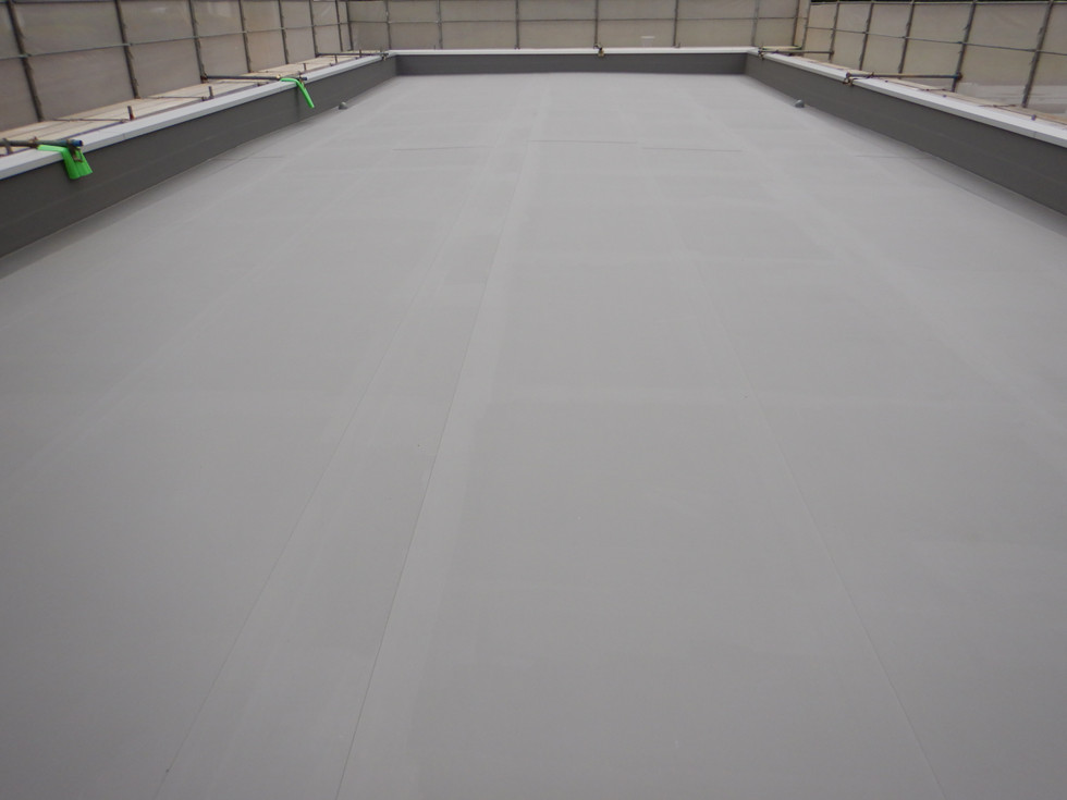 高陽浄水場変電所ほか屋根防水補修工事