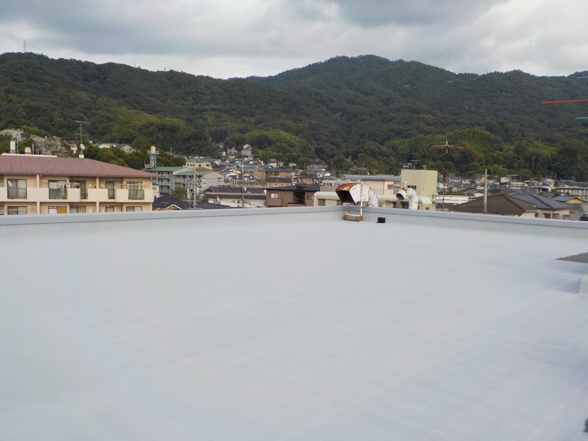 オーナービル屋上防水改修工事
