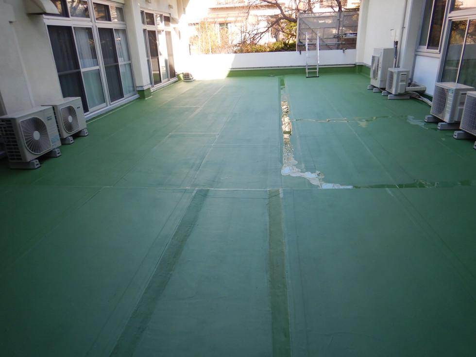 中野公民館屋上防水改修工事
