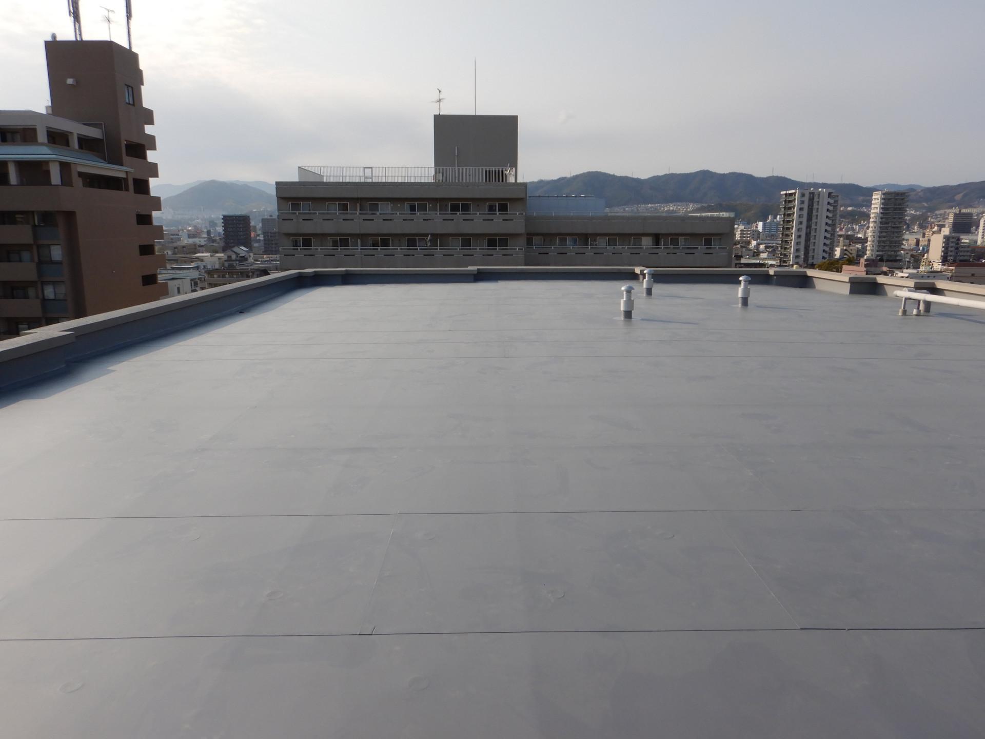 F分譲マンション屋上防水改修工事