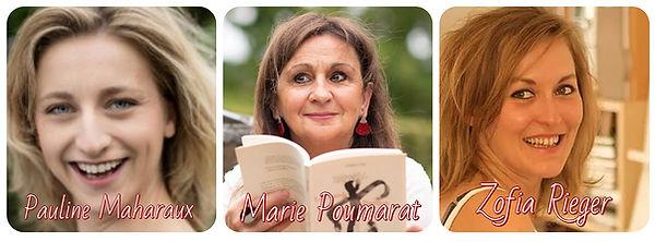 Pauline MAHARAUX Marie POUMARAT Zofia RI