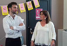 Marie POUMARAT et Louis CARATINI