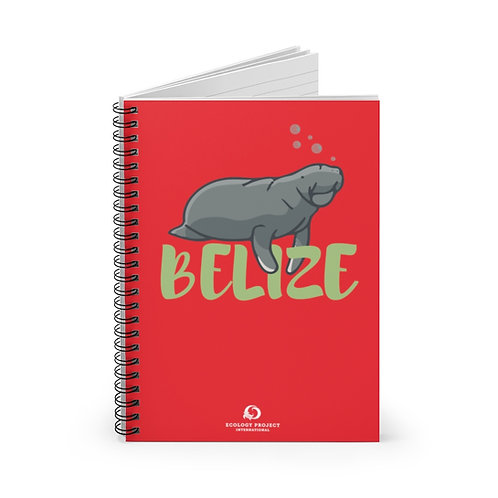 Belize Spiral Notebook - Ruled Line