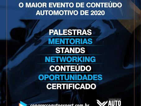 CONGRESSO AUTOMOTIVO - BELO HORIZONTE/MG - AUTO EXPERT 2020