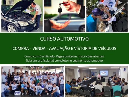 Instrutor - Perito Automotivo   Curso de Vistoria e Avaliação de Carros