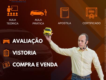 Valor do Curso Automotivo de Avaliação - Vistoria Veicular e Comércio de Veículos