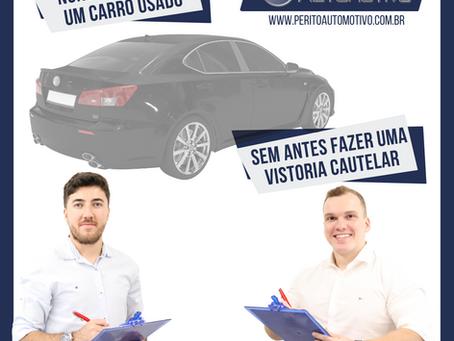 Vistoria Cautelar Veicular em Brasília/DF - Franquia Oficial - Perito Automotivo®