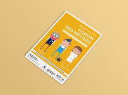 Redon - Forum des métier - Affiche